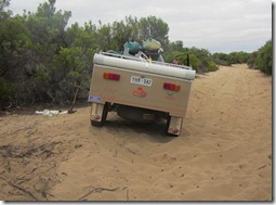 Unbogged and going again