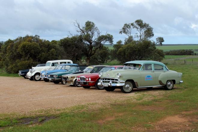 Perth to Sydney Vintage Car Rally.