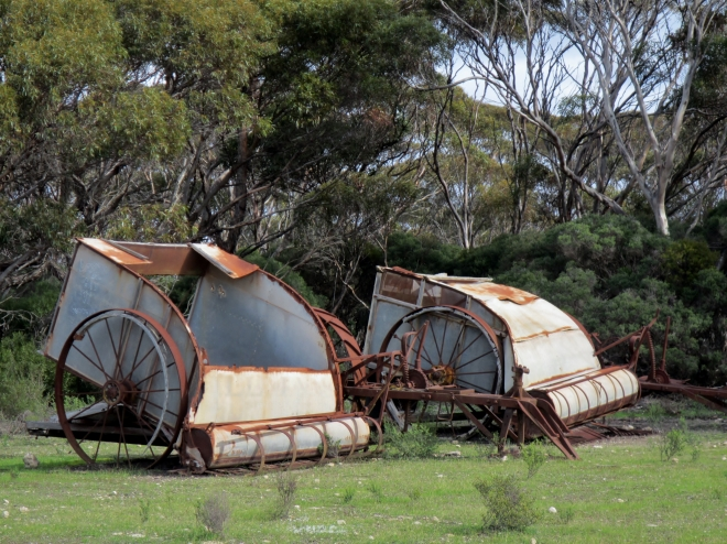 Harvesters from the past