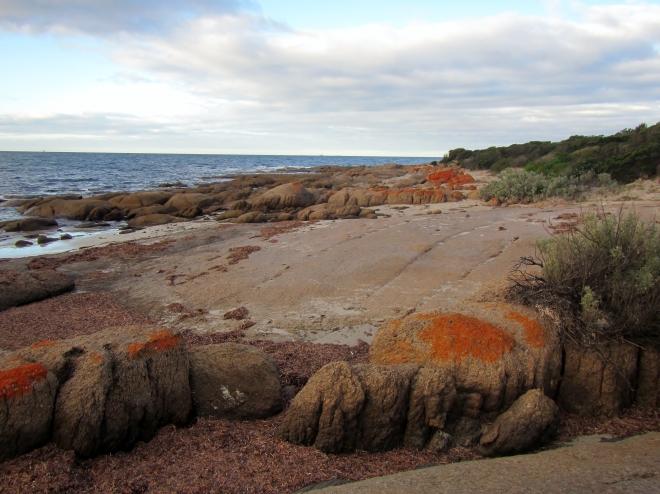 Granite outcrops