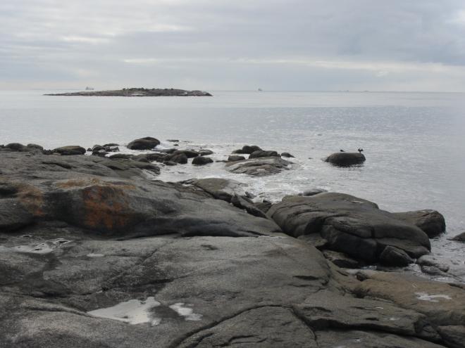 Granite islands