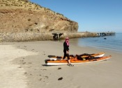 Ready to launch at Second Valley beach