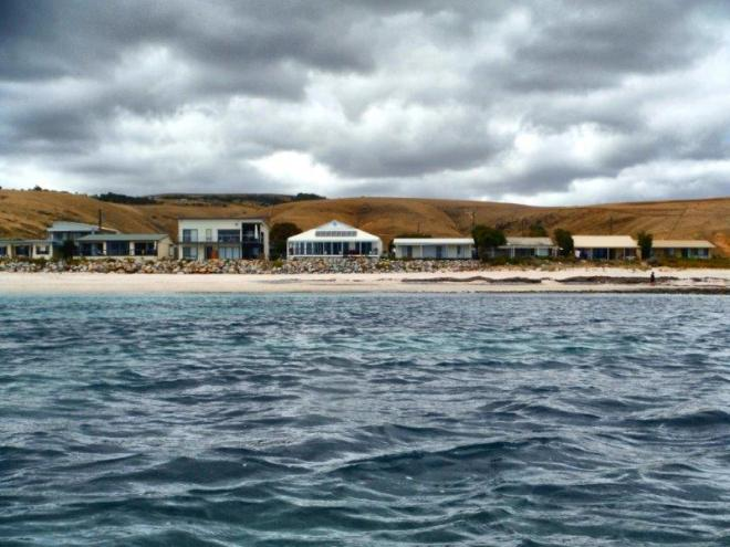 Houses on Myponga Beach
