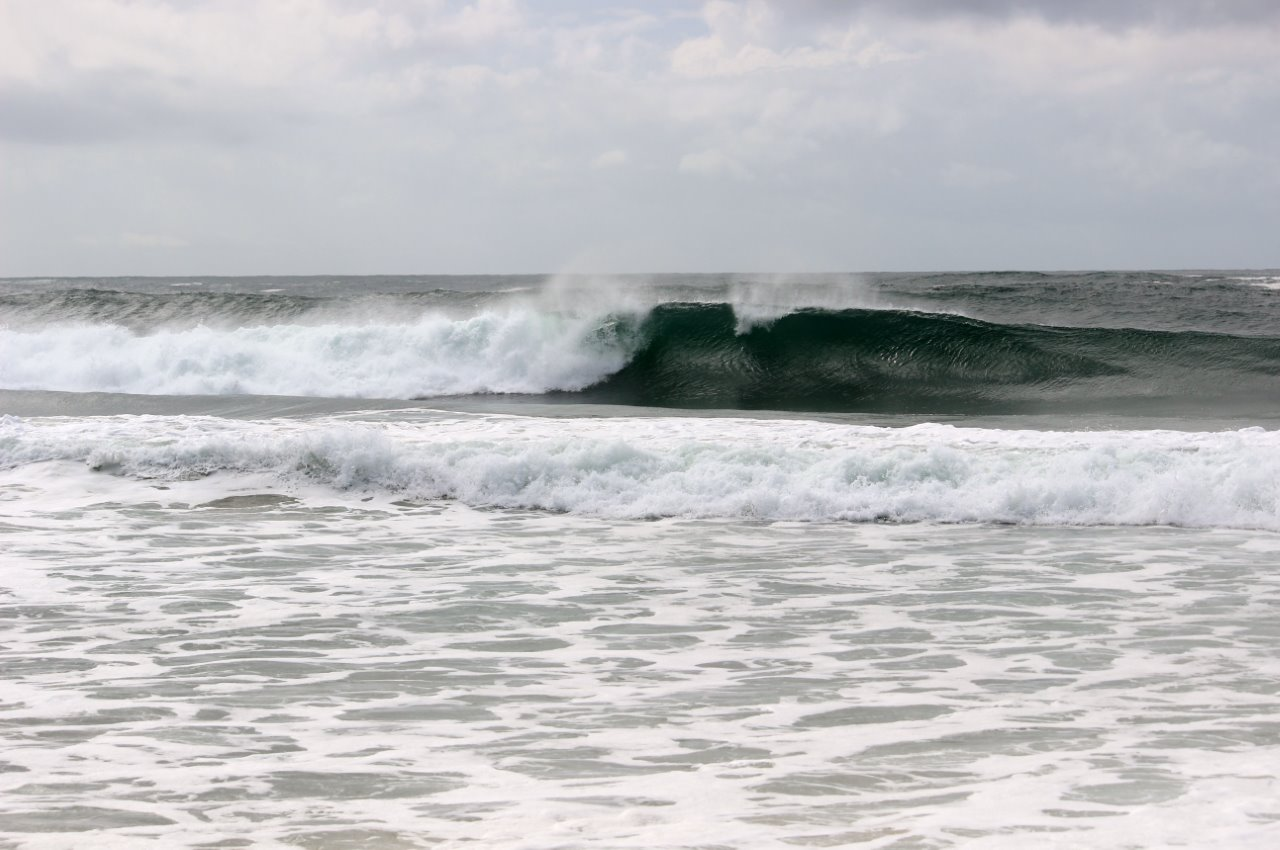 Nice sets...but that's only the shore break