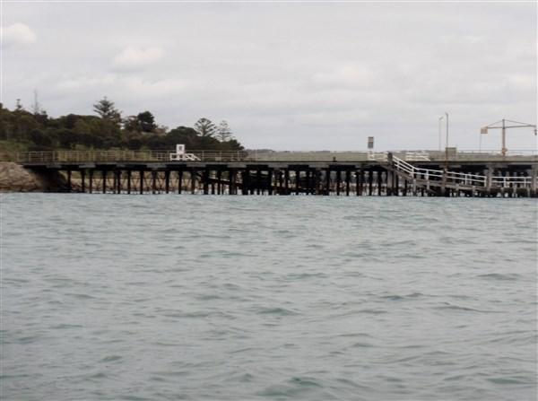 The boat wharf.